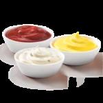 3 соуса по цене 2-х