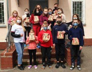 Помощь воспитанникам детского дома от КФС